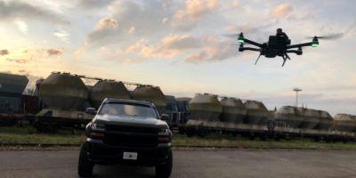 Sesja z dronem